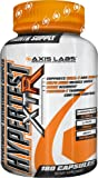 Axis Labs Hypertest XTR, Hypertrophic Testosterone Complex, 180 Count