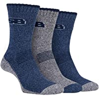 STORM BLOC Women's 3 Pack Cushioned Summer Hiking Boot Socks with Arch Support