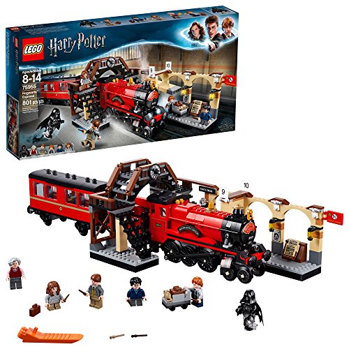LEGO Harry Potter Hogwarts Express 75955 Building Kit (801 Pieces)]()