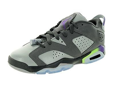 quality design 8721d 8c73d Nike Air Jordan 6 Retro Low GG, Chaussures de Running Entrainement Fille,  foncé