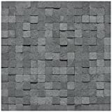 Dal-Tile L2223434SFMS1S- Stone A' La Mod Tile, Urban Bluestone High/Low Split Face