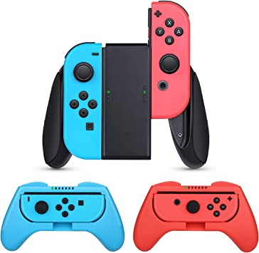 HEYSTOP Nintendo Switch Joy-con Grips (3 Piezas), Estuche ...