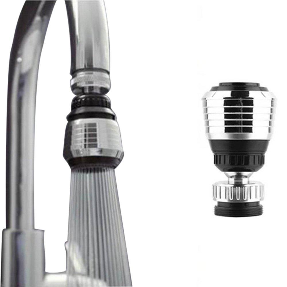 Brave Tour 360°Rotatable Water Saving Tap Bubbler Water Nozzle Faucet Filter Net Diffuser