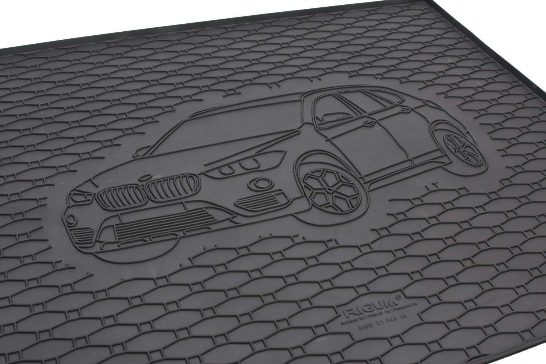 Kofferraumwanne Und Gummifußmatten Passgenau Geeignet Für Bmw X1 F48 Ab 2016 Farbe Schwarz Gurtschoner Auto
