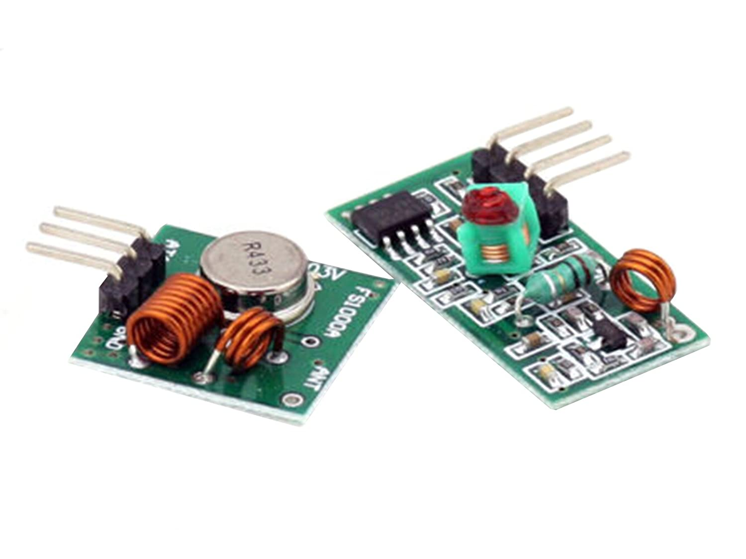 433mhz Rf Transmitter And Receiver Link Kit For Arduino How To Build Opamp Vhf Fm Arm Mcu Wl Cell Phones Accessories