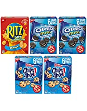 CHRISTIE Mini Snacks Variety Package, Back to School Snacks, 5 Packs, 900g, 24 Individually Wrapped portions