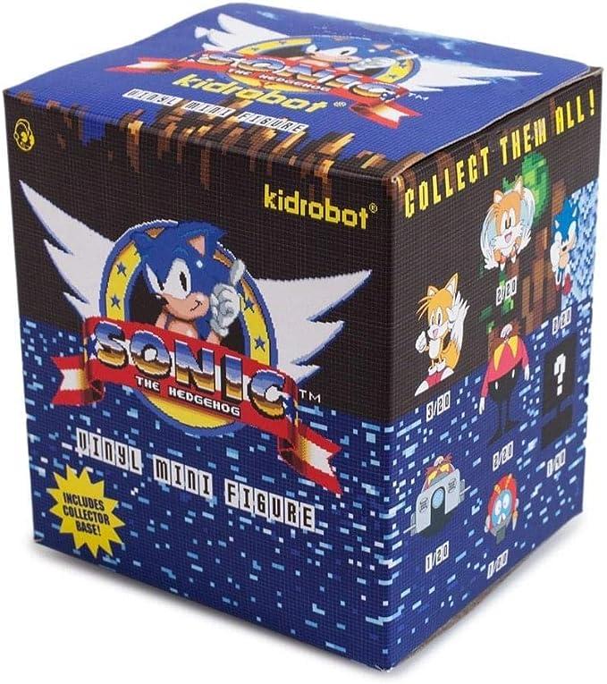 Amazon Com One Blind Box Sonic The Hedgehog Mini Series Vinyl Figure By Sega X Kidrobot Toys Games
