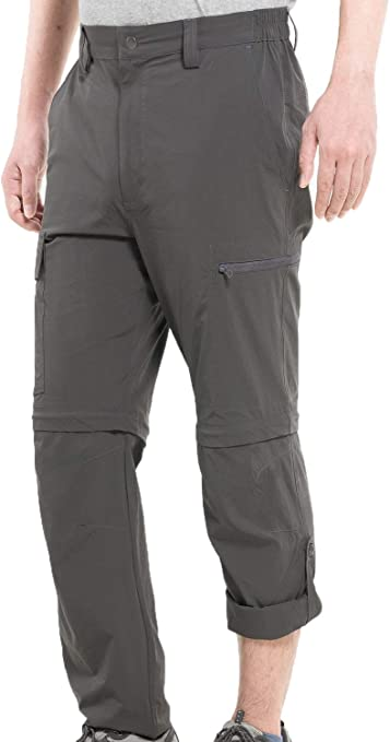 Mens Elasticated Cargo Work Trousers Lightweight Fishing Utility Pants M-2XL
