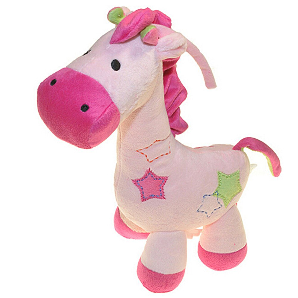 Lovely Giraffe Dear Soft Plush Toy Cute Little Baby Stuffed Animal Quality Doll