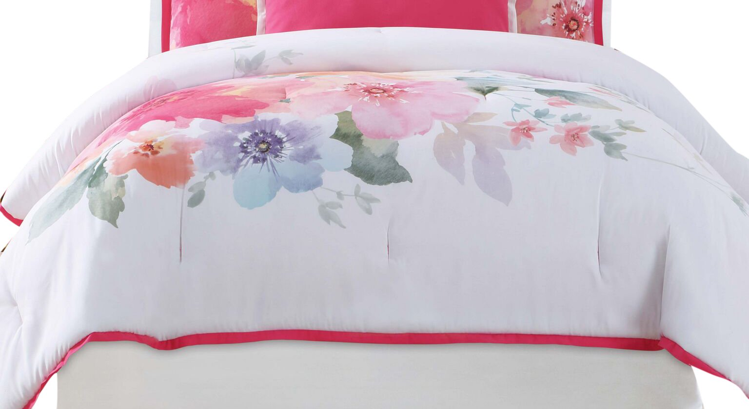Christian Siriano Bold Floral Full/Queen 3 Piece Duvet Cover Set