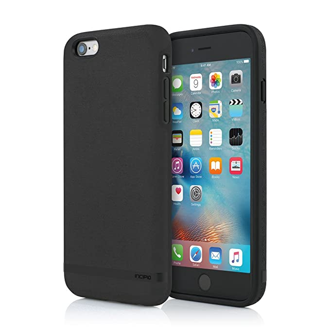 outlet store eb889 fa9a7 Incipio Cell Phone Case for Apple iPhone 6/6S Plus - Black