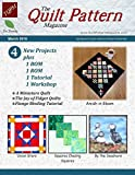Kindle Store : The Quilt Pattern Magazine