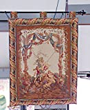 TAPESTRY LADY ON SWING MADE IN ITALY
