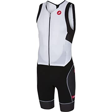 top selling Castelli Free Sanremo Sleeveless Suit - Men's White/Black