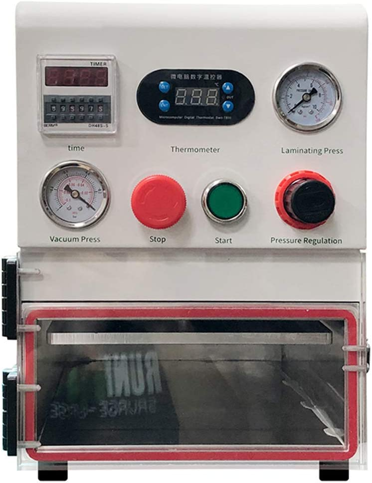 CGOLDENWALL TBK-108P Large Size Vacuum OCA Laminating Machine LCD Screen Refurbish Laminator Machine for Phone Screen Repair Equipment