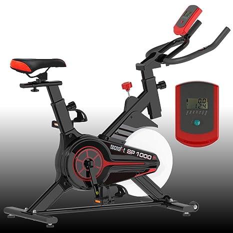 TecnoFit - SP1000. Bicicleta estática compacta con volante de ...