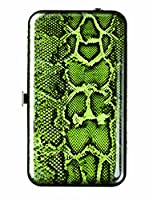 Spoontiques Wallet Case for iPhone 4; iPhone 5; iPhone 5S, iPhone 6; Samsung Galaxy S5 - Snakeskin Phone Wristlet