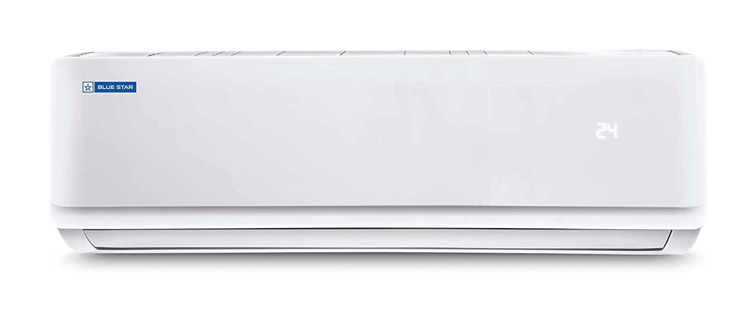 Blue Star 1.5 Ton 3 Star Split AC (Copper, FS318AATU, White)
