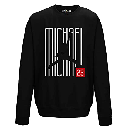 Sudadera Cuello Redondo Crewneck Airness 23 Writers Chicago XXL black