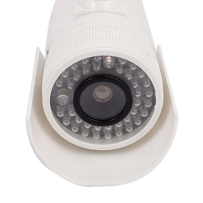 Amazon.com: eDealMax de vigilancia de seguridad falso muñeco de la cámara de luz intermitente roja al aire Libre de Interior: Electronics