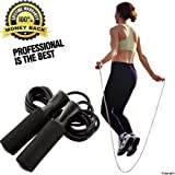 Jump Rope Adjustable Rope for Fitness Double Unders Exercise