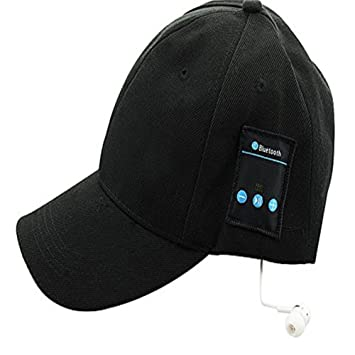 b1a716db3eb MFY CZ Smart Wireless Bluetooth Music with Headphone Cap With Microphone  Breathable Sunscreen Cotton Baseball Golf hat Easy to Carry Removable  ...