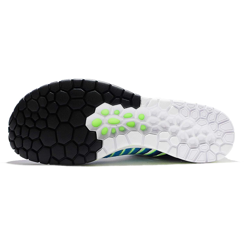 NIKE Unisex 11 Flyknit Racer Running Shoe B01LZ5D1HC 11 Unisex D(M) US|Blue Glow/White a46c55