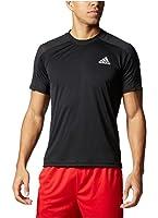 Adidas® Men's Climacore Climalite Althletic Mesh Shoulder TShirt