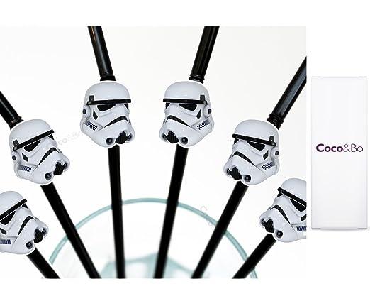8 x coco y Bo - Stormtrooper - Pajitas para fiesta - Star ...