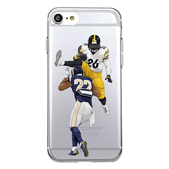 623ecdb871ad4 iPhone 7 PLUS / iPhone 8 PLUS Football Silicone Protective Transparent Thin  Case (16)