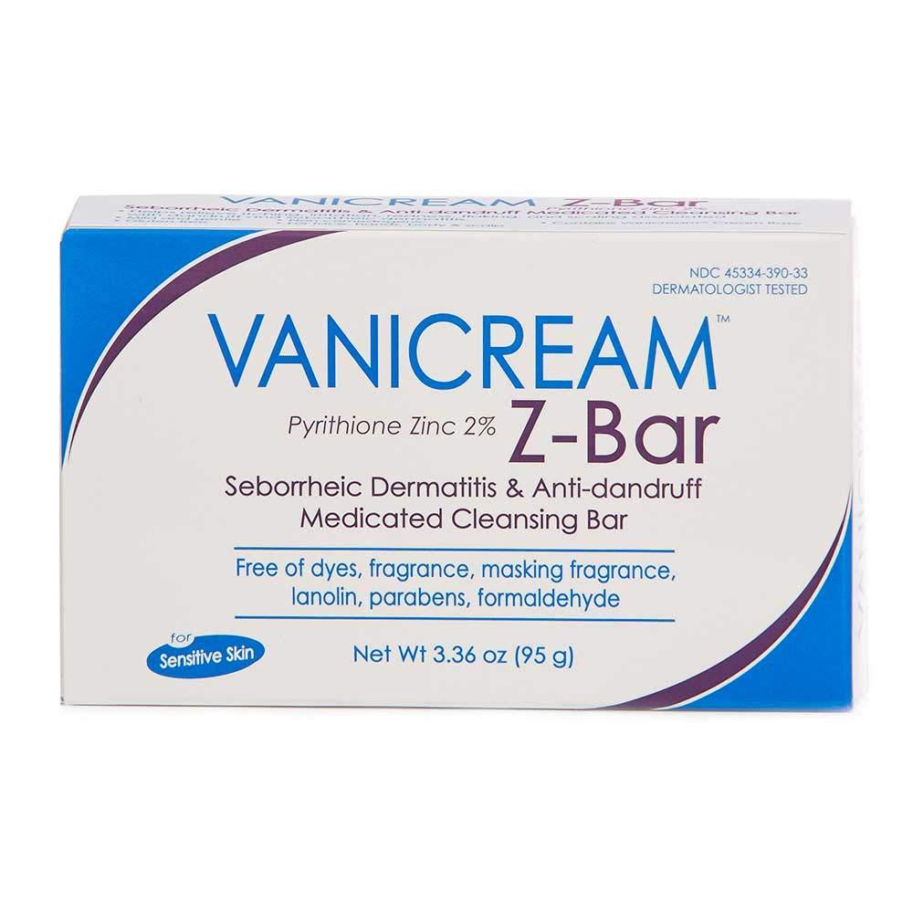 Vanicream Z-Bar Medicated Cleansing Bar, 3.36 Ounce (EACH) by Vanicream