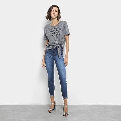 ae798055c Calça Jeans Cigarrete Colcci Fátima Cintura Média Feminina - Azul - 40:  Amazon.com.br: Amazon Moda