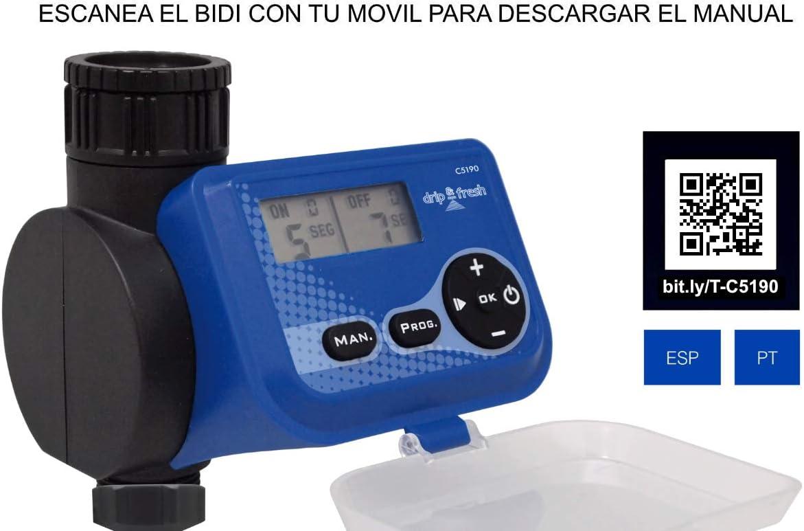 Drip&Fresh C5190 - Programador digital de nebulización por ...