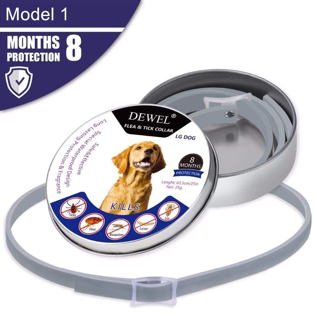 The Stock Pile Dewel All Cat Dog Collar Anti Flea Ticks Mosquitoes Outdoor Protective Adjustable