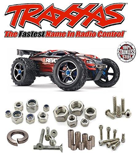☆ TRAXXAS ◘ E-Revo Brushless 4wd TSM ◘ Stainless Steel Sc...