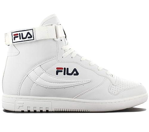 Fila FX-100 Mid 1010007.1FG Bianco Scarpe da Uomo Sneaker Taglia  EU 45 UK  10.5  Amazon.it  Scarpe e borse e738250faca