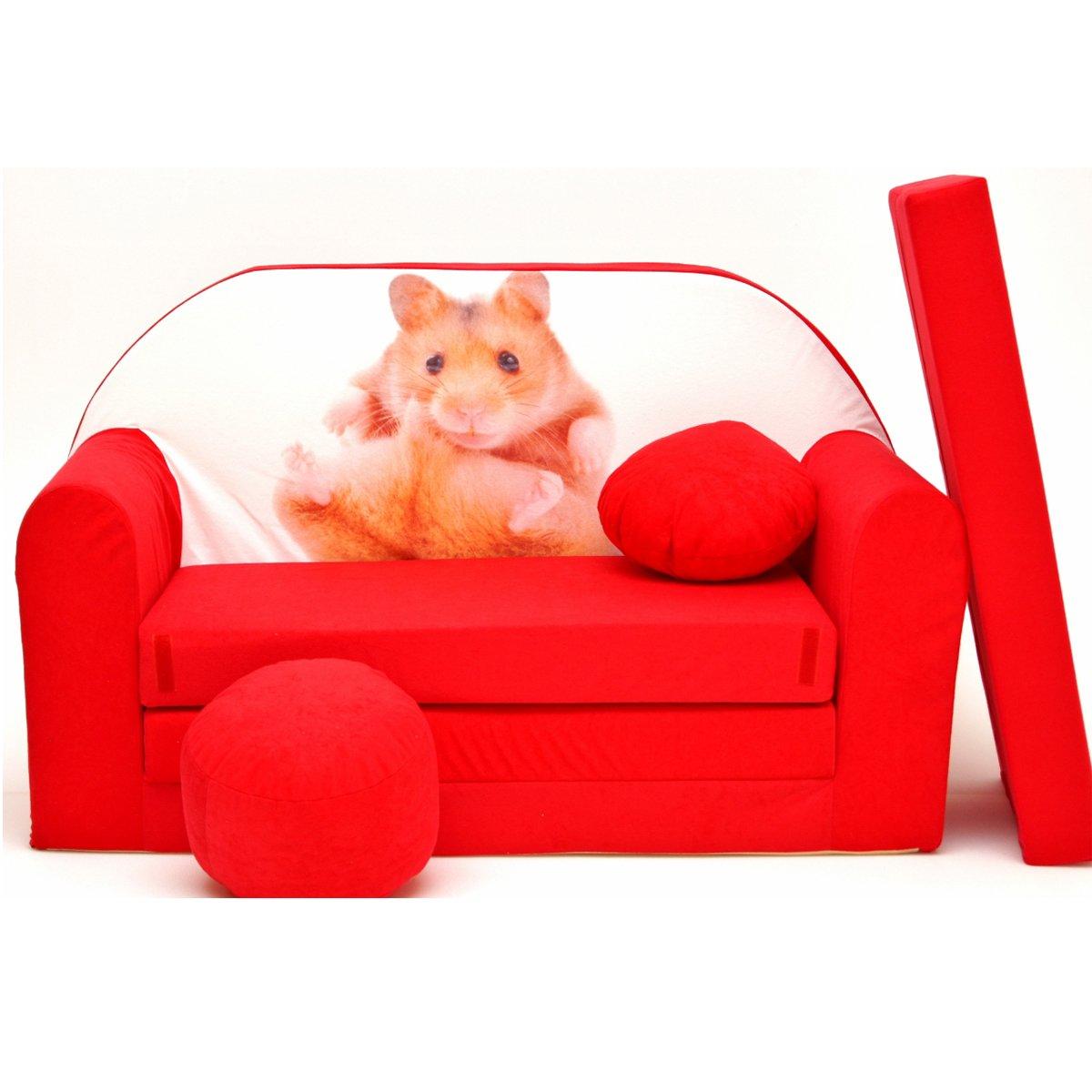 d37 de B Niños Bar Dormir emergente sofá sofá sofá Mini sofá 3 en 1 Baby Set + – Sillón infantil y asiento cojín + colchón