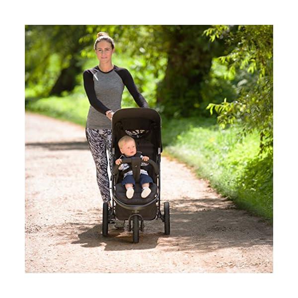 Hauck Rapid Passeggino 3 Ruote Reclinabile, Piegatura Compatta, per Bambini dalla Nascita fino a 15 kg 4 spesavip