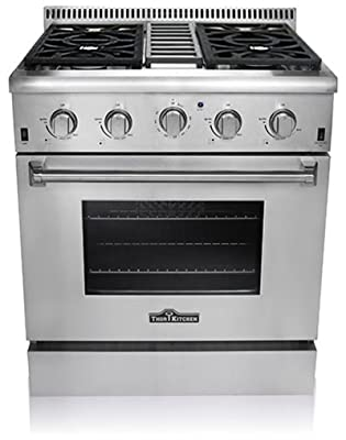 Thor Kitchen HRG3031U Professional Style Stainless Steel Gas Range