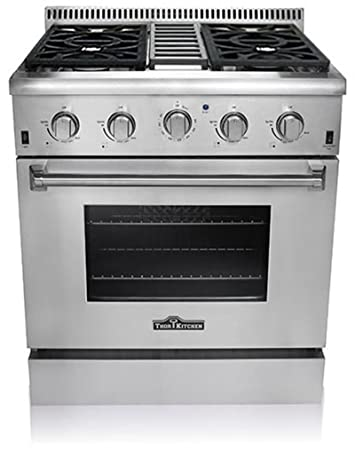 kitchen professional style stainless steel gas range stove 4 burner cooktop sears stoves reviews