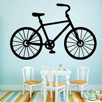 HNXDP bicicleta pared pegatina autoadhesiva vinilo impermeable ...