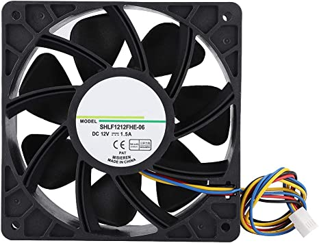 Wendry Ventilador de Enfriamiento, SHLF1212FHE-06 DC12V 1.5A ...