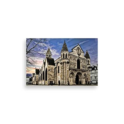 Romantic Notre Dame De Paris Posters Pvc Decoration De
