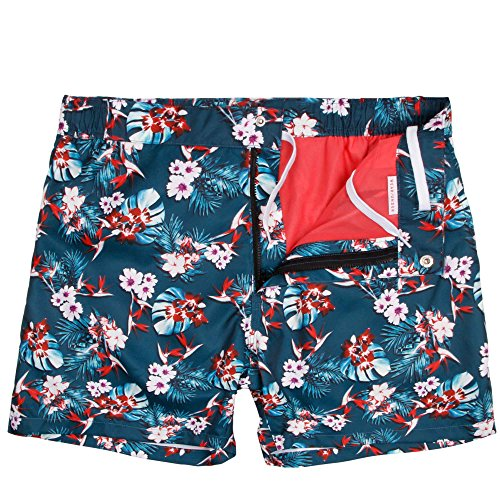 102e705a19 Mosmann Mens Tailored Swim Shorts - TUVALU (NEW) well-wreapped ...