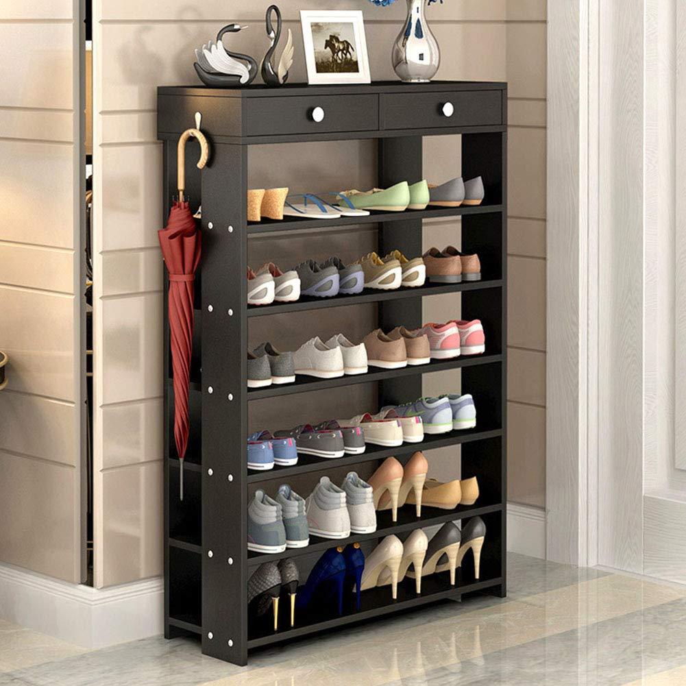 XUE Schuh-Rack, Multi-Layer Simple Household Storage Cabinet schuhe Organizer Assembly Modern Minimalist Dust Shelf schuhe Tower for Heels Stiefel Slippers,B