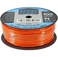 Home Theatre Premium in-Wall Speaker Cable - 2 Core 14AWG - 100m - Fire Rated
