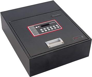 Arregui 20000-S7 - Caja fuerte motorizada para su instalación oculta en zócalos de armario, 10L, 310x110x 380mm, Negro: Amazon.es: Bricolaje y herramientas