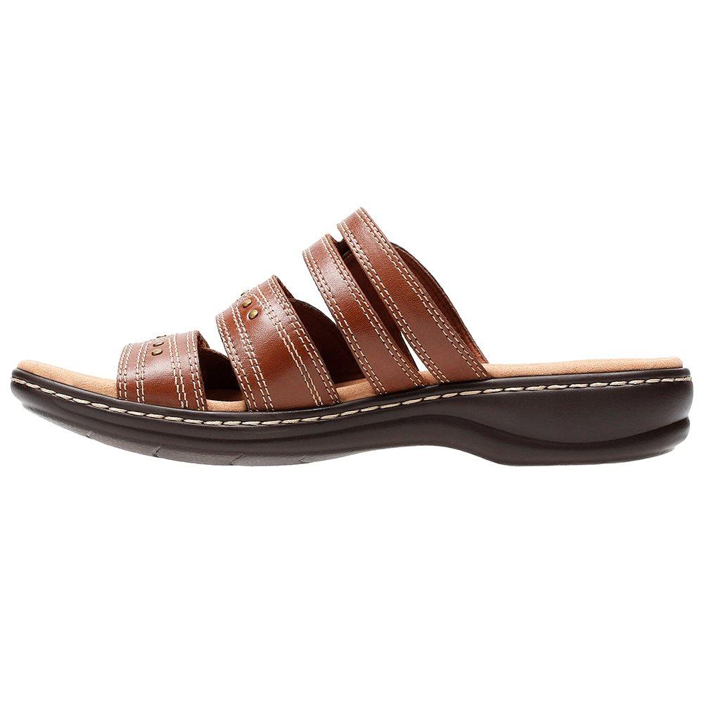 CLARKS Leisa Lakia Women's Sandal B0788Q63F9 7 B(M) US|Dark Tan