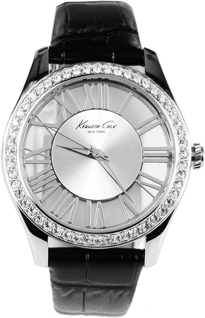 Kenneth Cole New York Transparente Dial Damas Reloj de Cuarzo KC2730