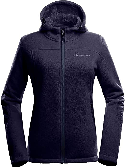 Smileyth Womens Hooded Printed Rainproof Windbreaker Jacket Outdoor Waterproof Windproof Loose Zipper Coat Outwear